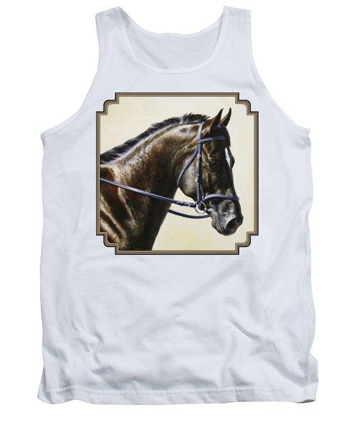 Dressage Horse - Concentration Tank Top