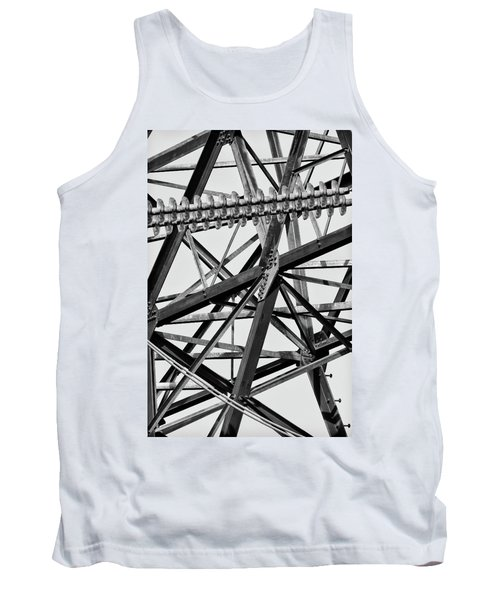 Tank Top featuring the photograph What's Your Angle by Bill Kesler