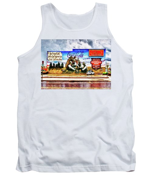Tank Top featuring the photograph Large North Platte Wall Mural by Bill Kesler