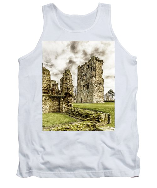 Tank Top featuring the photograph Ashby Castle by Nick Bywater
