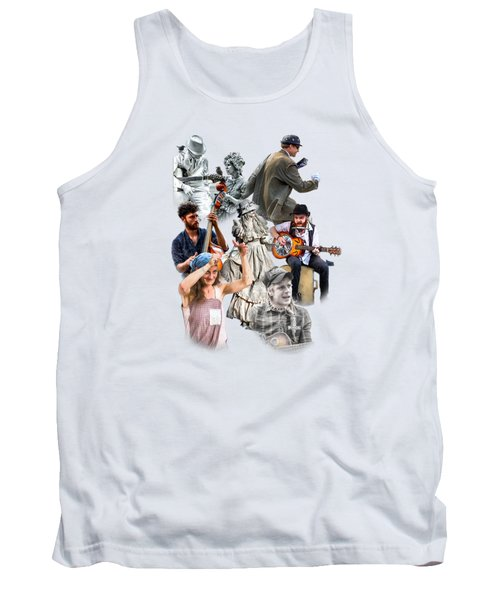 Asheville Buskers Collage Tank Top