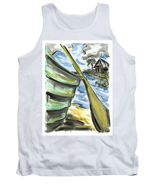 Tank Top featuring the painting Ashore by Robert Joyner