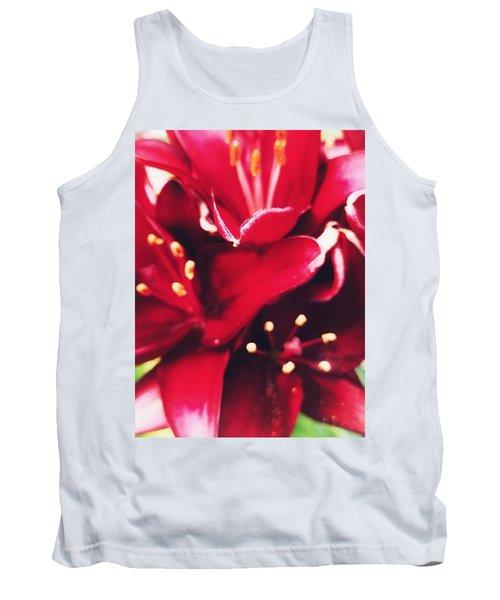 Asiatic Lilies Tank Top