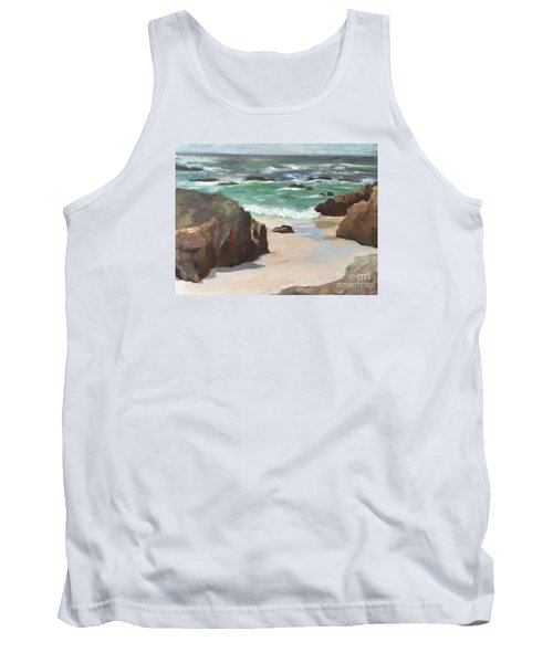 Asilamor Beach Monterey Ca Tank Top