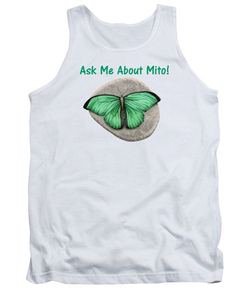 Ask Me About Mito T-shirt Or Tote Bag Tank Top