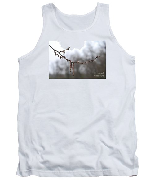 Tank Top featuring the photograph Aspen Catkins 20120316_15a by Tina Hopkins