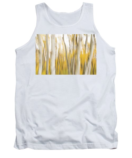 Tank Top featuring the photograph Aspens 2 by Alex Lapidus