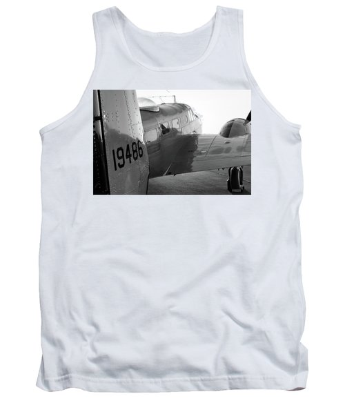 At-11 In Black And White - 2017 Christopher Buff, Www.aviationbuff.com Tank Top