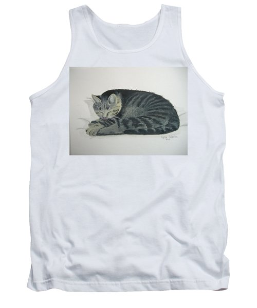 Tank Top featuring the painting At Rest by Norm Starks
