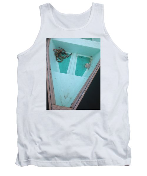 Tank Top featuring the photograph At The Dock by Olivier Calas