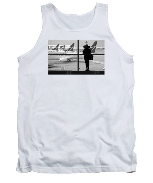At The Gate Tank Top by Valentino Visentini