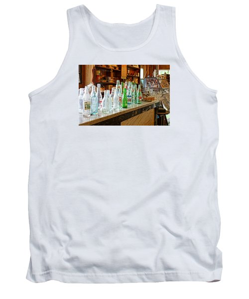 At The Store Tank Top by Steven Clipperton