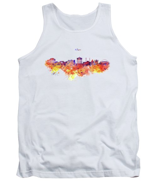 Athens Skyline Tank Top