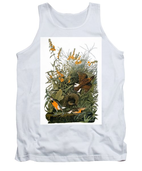 Audubon: Meadowlark Tank Top by Granger