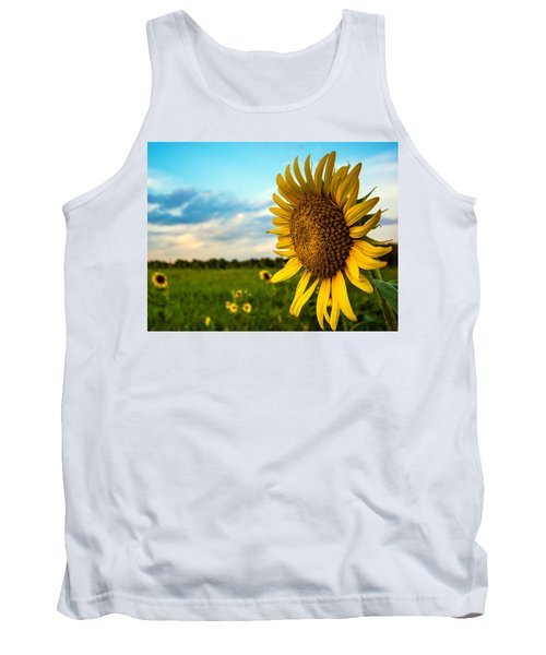 August Icon  Tank Top by John Harding