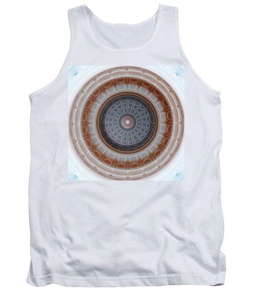 Austin Capitol Dome In Gray And Brown Tank Top