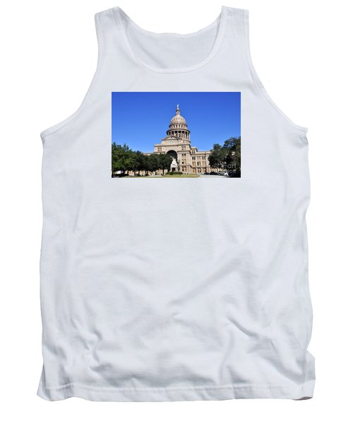 Austin State Capitol Tank Top