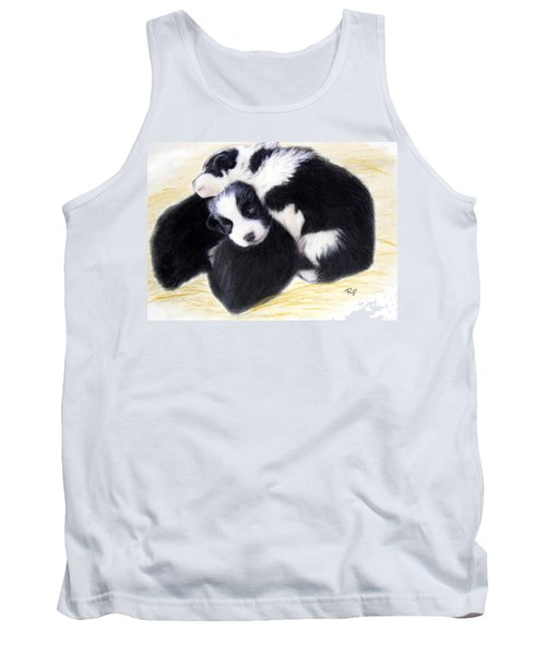 Australian Cattle Dog Puppies Tank Top