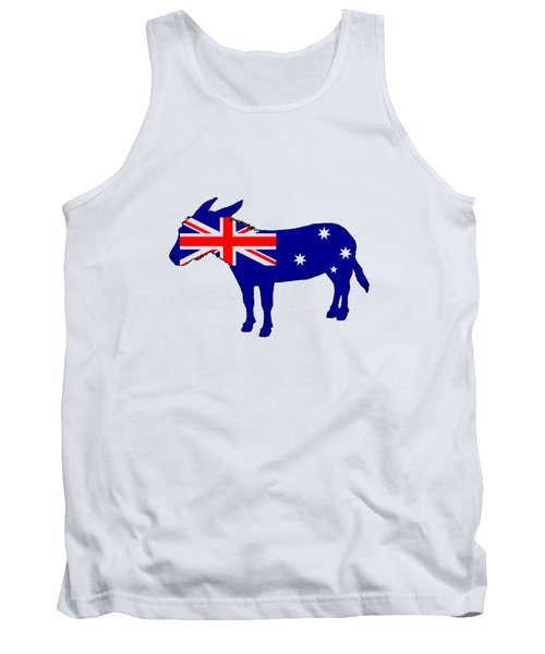 Australian Flag - Donkey Tank Top by Mordax Furittus