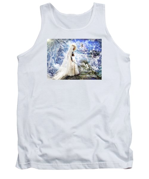 Authority Over Darkness Tank Top by Dolores Develde