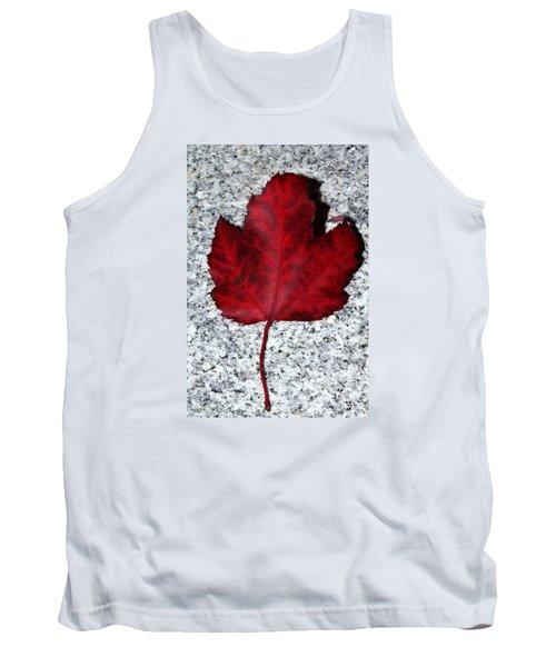 Autum Maple Leaf 1 Tank Top
