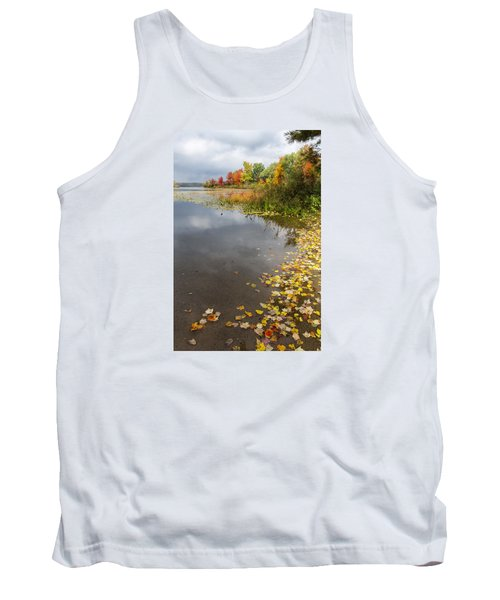 Autumn At The Lake In Nh Tank Top