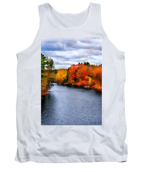 Autumn Channel Tank Top