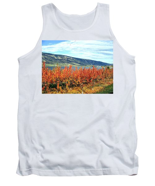 Autumn Cherry Orchard Tank Top