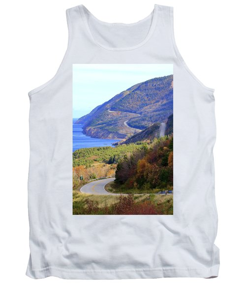 Autumn Color On The Cabot Trail, Cape Breton, Canada Tank Top
