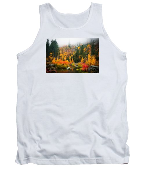 Tank Top featuring the photograph Autumn Colors Symphony by Dan Mihai