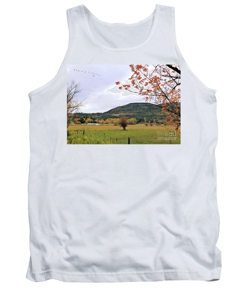 Autumn Country View Tank Top