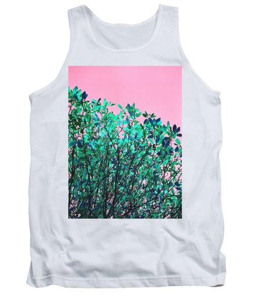 Tank Top featuring the photograph Autumn Flames - Pink by Rebecca Harman