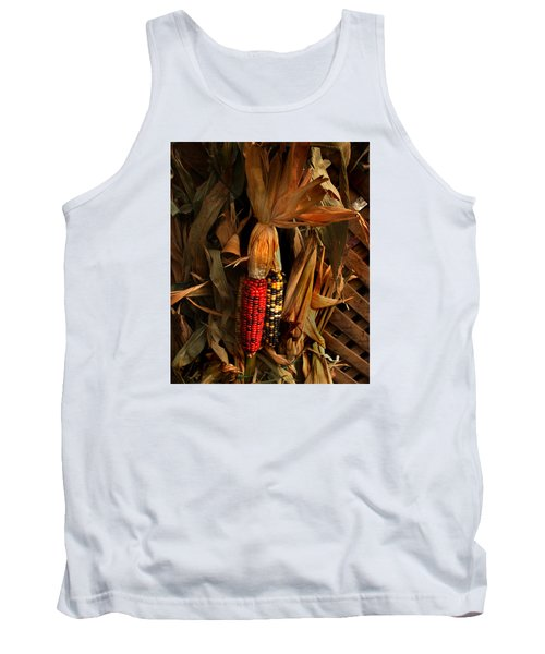 Tank Top featuring the photograph Autumn Harvest by Kathleen Stephens