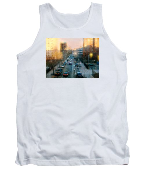 Autumn In Harlem Tank Top by Diana Angstadt