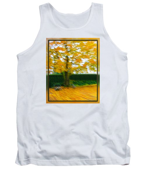 Autumn, Leaves Tank Top