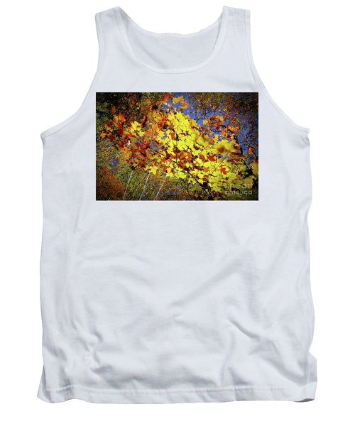 Autumn Light Tank Top by Tatsuya Atarashi