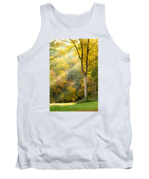 Autumn Morning Rays Tank Top by Brian Caldwell