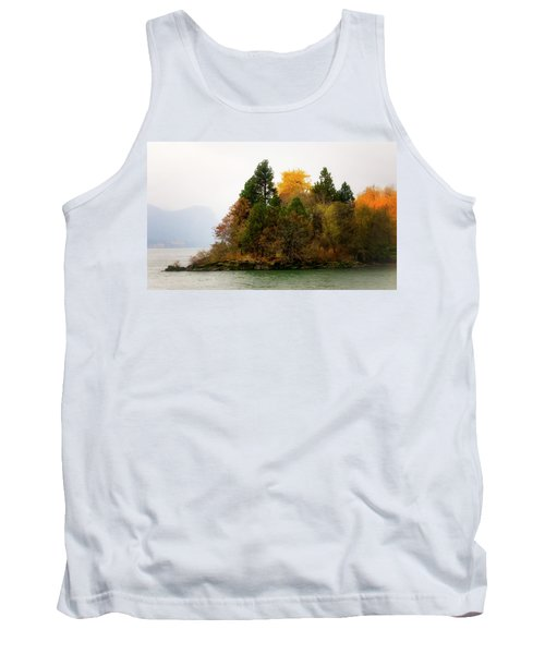 Autumn On The Columbia Tank Top by Albert Seger