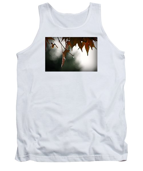 Autumn Raindrops Tank Top by Katie Wing Vigil