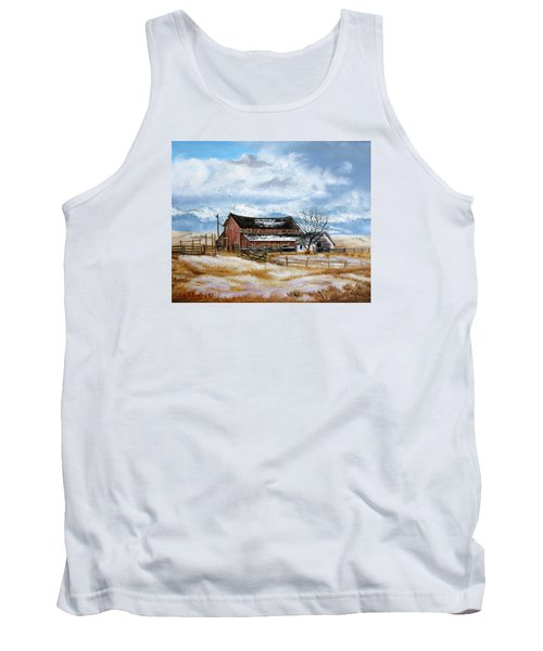 Autumn Slips Away Tank Top