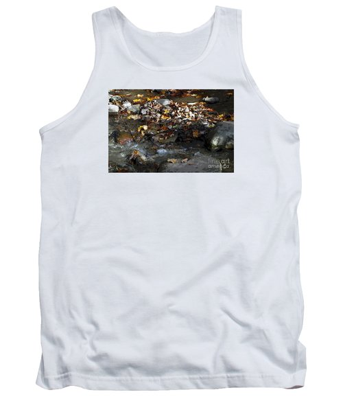 Tank Top featuring the drawing Autumn Soup by Diane E Berry