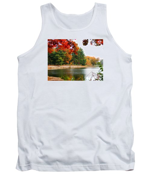 Autumn View Tank Top by Teresa Schomig