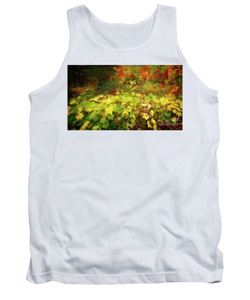Autumn Watercolor Tank Top