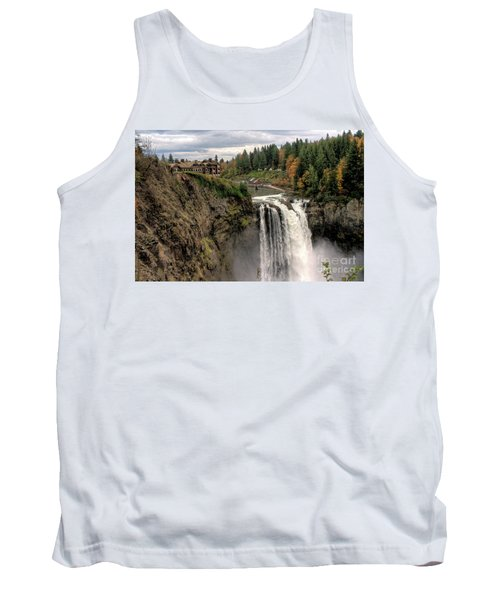 Autumnal Falls Tank Top by Chris Anderson