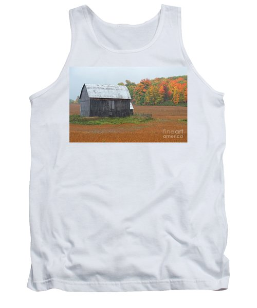 Tank Top featuring the photograph Autumnal.. by Nina Stavlund