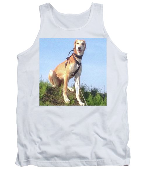 Ava-grace, Princess Of Arabia  #saluki Tank Top