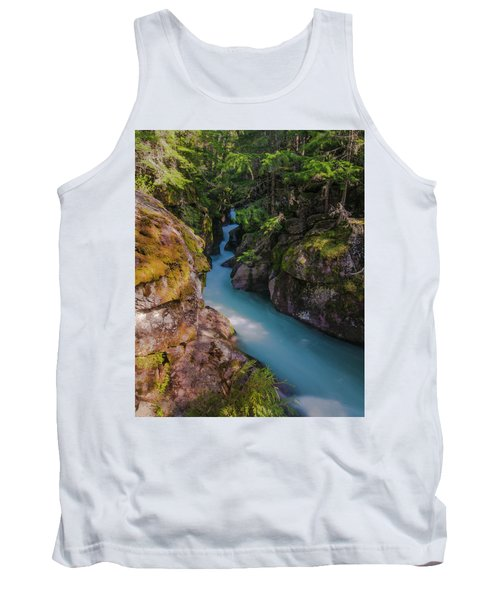 Tank Top featuring the photograph Avalanche Gorge 5 by Gary Lengyel