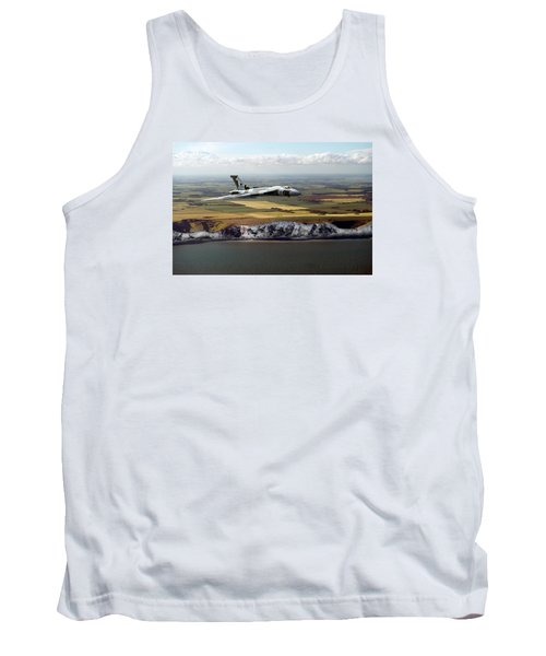 Avro Vulcan Over The White Cliffs Of Dover Tank Top