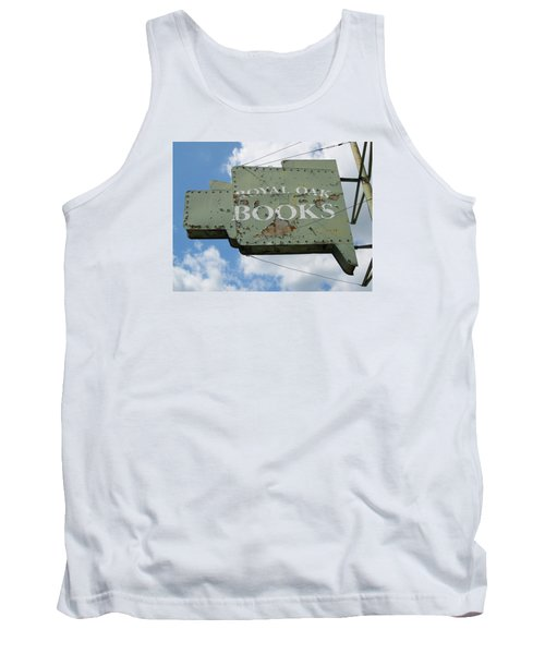 A Sign Of The Times Tank Top by Sandra Church
