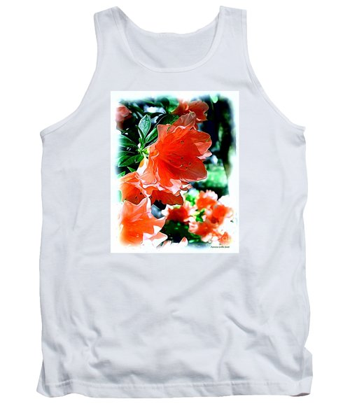 Tank Top featuring the painting Azaleas In The Spring by Patricia Griffin Brett